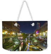 Bricktown Canal Water Taxi Weekender Tote Bag