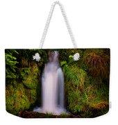 Bridal Dress. Waterfall At Benmore Botanical Garden. Nature Of Scotland Weekender Tote Bag