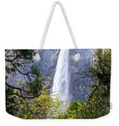 Bridal Veil Falls In Yosemite Valley In Spring- 2013 Weekender Tote Bag