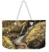 Bridal Veil Stream And Mossy Rocks - Heber Springs Arkansas Weekender Tote Bag