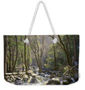 Bridalveil Falls Feeds A Marvelous Stream Weekender Tote Bag