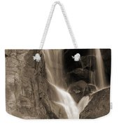 Bridalveil Falls In Yosemite Sepia Version Weekender Tote Bag