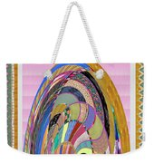 Bride In Layers Of Veils Accidental Discovery From Graphic Abstracts Made From Crystal Healing Stone Weekender Tote Bag