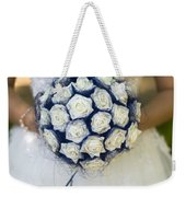 Bride With Flowers Weekender Tote Bag