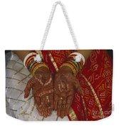 Brides Hands India Weekender Tote Bag