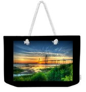 Bridge 3 Weekender Tote Bag
