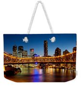 Bridge Across A River, Story Bridge Weekender Tote Bag