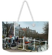 Bridge Across Canal - Amsterdam Weekender Tote Bag