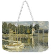 Bridge At Argenteuil Weekender Tote Bag