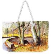 Bridge At Littlemill Glenmuick Scotland Weekender Tote Bag