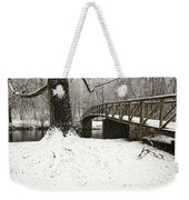 Bridge At Old Mine Park Weekender Tote Bag