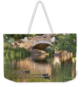 Bridge At Stow Lake Weekender Tote Bag