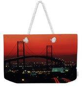 Bridge At Sunset Weekender Tote Bag