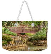 Bridge At Shelton Vineyards Weekender Tote Bag