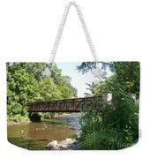 Bridge At Waubonsie Creek Weekender Tote Bag