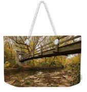 Bridge Between Seasons Weekender Tote Bag