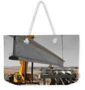 Bridge Building Bw Weekender Tote Bag