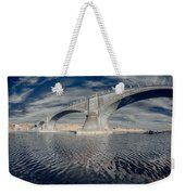 Bridge Curvature In Color Weekender Tote Bag