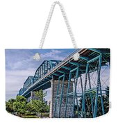 Bridge From The Park Weekender Tote Bag