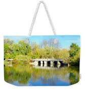 Bridge In A Park Weekender Tote Bag