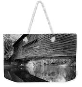 Bridge In Black And White Weekender Tote Bag