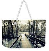 Bridge In The Wood Weekender Tote Bag
