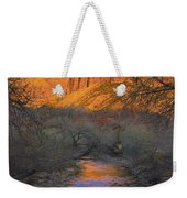 Bridge Mt And The Virgin River Zion Np Weekender Tote Bag