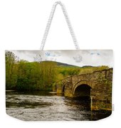 Bridge Near Cymer Abbey Weekender Tote Bag