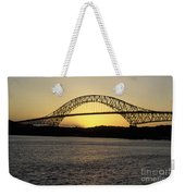 Bridge Of The Americas Panama Weekender Tote Bag
