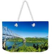 Bridge Of The Gods Weekender Tote Bag