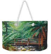 Bridge Over Badger Creek Weekender Tote Bag