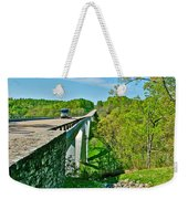 Bridge Over Birdsong Hollow At Mile 438 Of Natchez Trace Parkway-tennessee Weekender Tote Bag