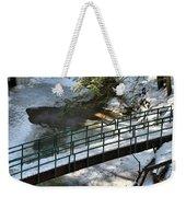 Bridge Over Frozen River Weekender Tote Bag