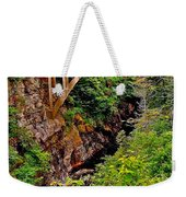 Bridge Over North Harbour River-nl Weekender Tote Bag