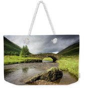 Bridge Over River, Scotland Weekender Tote Bag