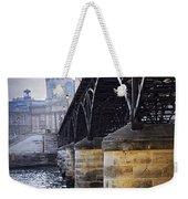 Bridge Over Seine In Paris Weekender Tote Bag