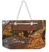 Bridge Over Smith River Weekender Tote Bag