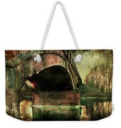 Bridge Over The Canal Weekender Tote Bag