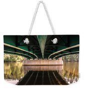 Bridge Over The Connecticut River Weekender Tote Bag