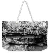 Bridge Over The Delaware Canal At Washington's Crossing Weekender Tote Bag