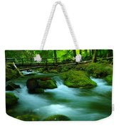 Bridge Over The Tananamawas Weekender Tote Bag