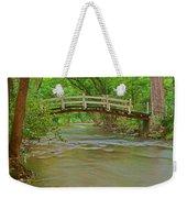 Bridge Over Valley Creek Weekender Tote Bag