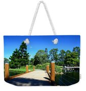 Bridge Perspective Weekender Tote Bag