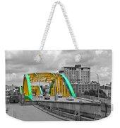 Bridge Pop Weekender Tote Bag