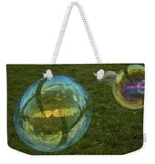 Bridge Reflections In The Bubbles Weekender Tote Bag
