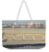 Bridge To Crystal Cay Weekender Tote Bag