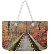Bridge To Fall Weekender Tote Bag