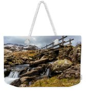 Bridge To Idwal Weekender Tote Bag