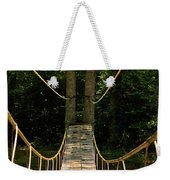 Bridge To The Forest Weekender Tote Bag