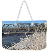 Bridge To Winter Weekender Tote Bag
